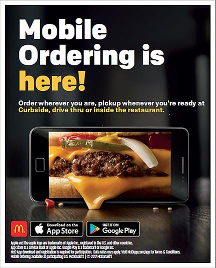 Mobile Ordering App – Caspers News